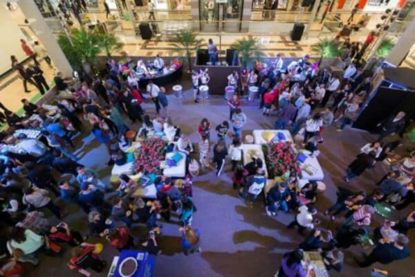 Party at the Mall celebra a chegada da primavera no shopping Anália Franco