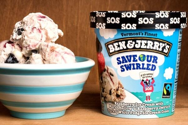 Si Señor distribui potes de sorvete Ben & Jerry