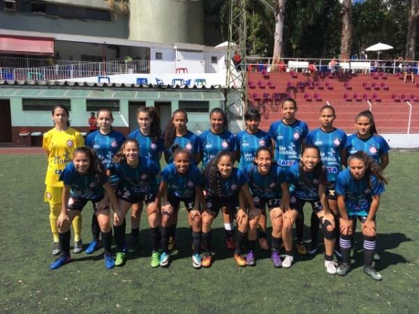 Time de futebol feminino da COTP busca tricampeonato na Copa Juventus