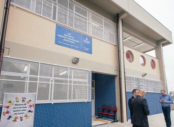 Centro de Educação Infantil Manoel Rodrigues Santiago é inaugurado no Itaim Paulista