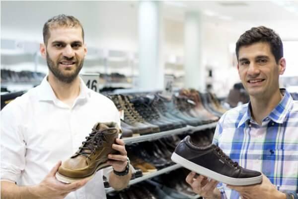 Sapato Grande promove desconto de 20% em calçados masculinos acima do tamanho 44