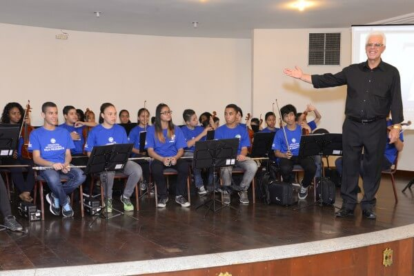 Orquestra Infanto-juvenil da Vila Prudente se apresenta gratuitamente no Shopping Anália Franco