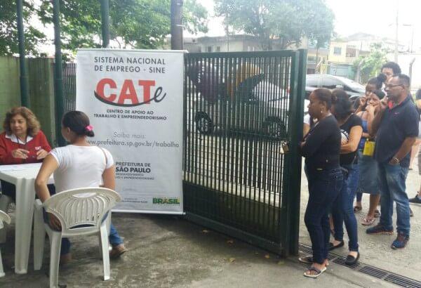 CATe leva serviços de emissão de carteira de trabalho ao Itaim Paulista