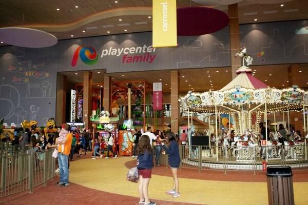 Parque indoor é inaugurado em shopping da Zona Leste