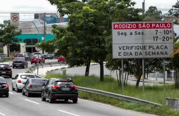 Rodízio Municipal de Veículos volta a vigorar em São Paulo