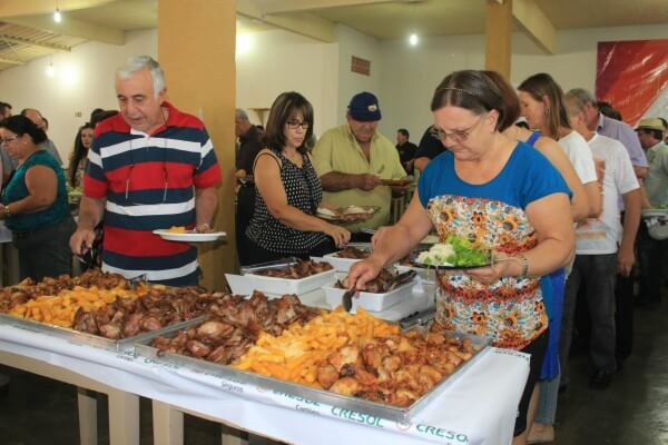 Festa do Frango com Polenta acontece na Vila Carrão