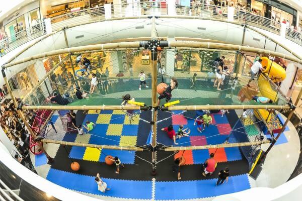 Shopping na Mooca estreia atração em área externa