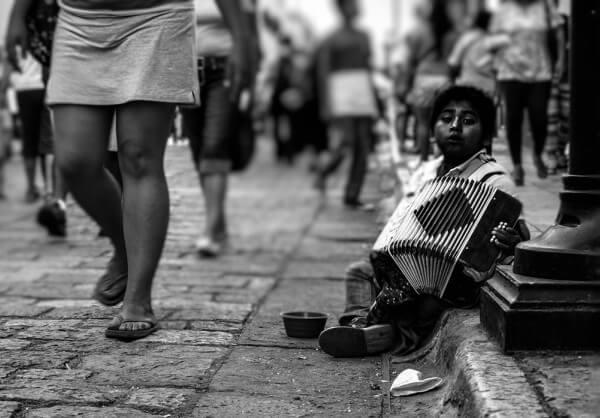A violência das desigualdades