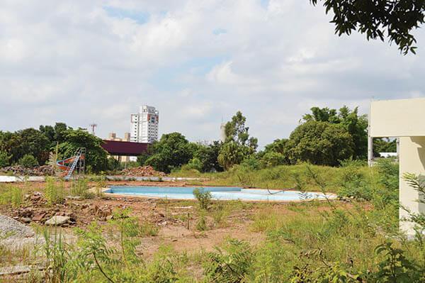 Território CEU no Tatuapé está abandonado
