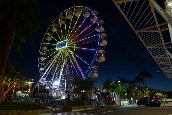 Roda-gigante Brasil chega à Zona Leste