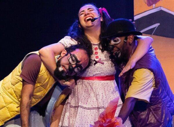"""Espetáculo """"The Ratos"""" estreia no Teatro Dr. Botica"""