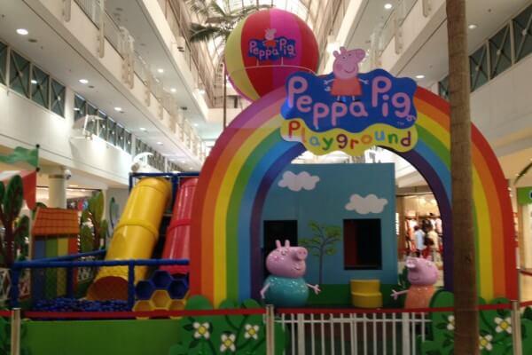 Peppa Pig e Gigantes do Mar são atrações no Tatuapé
