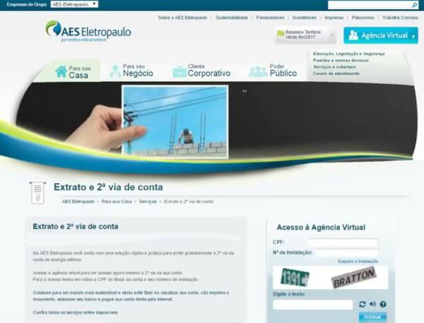 Agência Virtual da Eletropaulo ganha novas funcionalidades