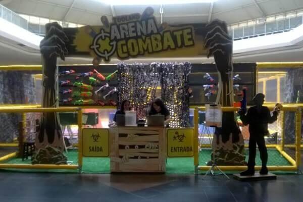 Arena Combate é atração de férias em Itaquera