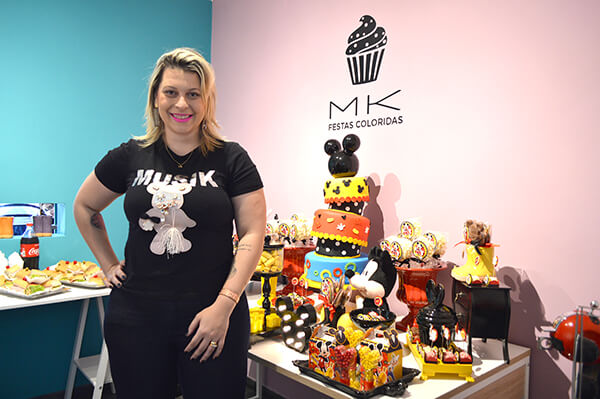 Novo showroom da MK Festas Coloridas no Tatuapé
